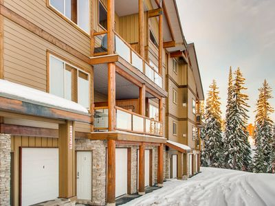 Photo for Snowy Creek town home located opposite the Bullet Express Chairlift