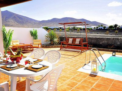 Photo for Vacation home Villa Princesa in Playa Blanca - 6 persons, 3 bedrooms