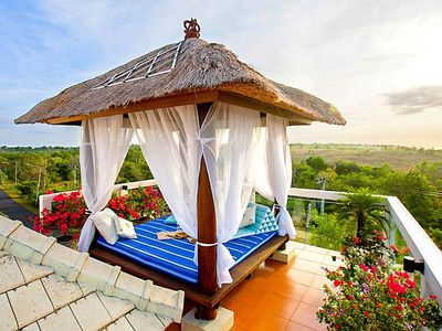 Photo for Nestled atop the highest hill of southern Bali lies Villa Sunut, an elegant and minimalist haven for