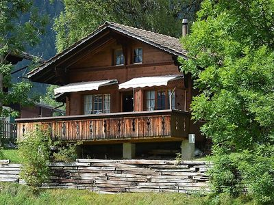 Photo for Apartment Marmotte, Chalet  in Lauenen b. Gstaad, Bernese Oberland - 4 persons, 2 bedrooms