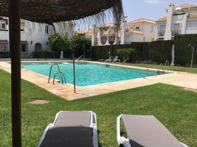 Photo for Detached luxury villa with pool and air conditioning 240 m2