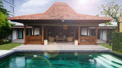 Photo for Exotic Joglo Private Pool Villa 2 Bedrooms In Canggu Near The Beach