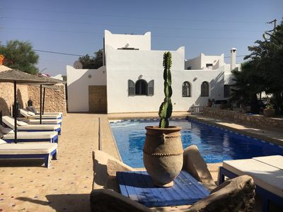 DAR DO bright Berber house with pool and garden