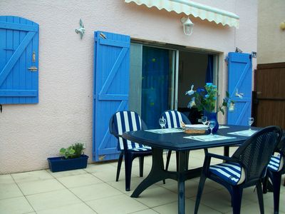 Photo for Villa ideally situated, quiet residence 10 minutes walk to the beach and golf