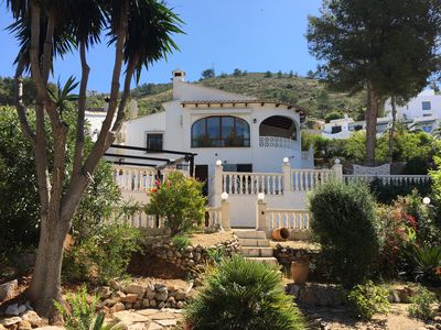 Photo for Detached 2 Bedroom Villa in El Portet, with large terraces and pool views
