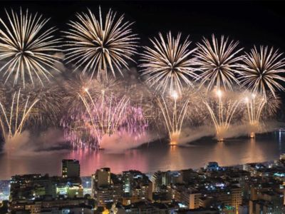 Photo for Penthouse in Copacabana facing the sea and fireworks from New Year's Eve!