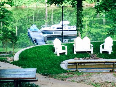 Photo for Lake Front House With Dock On Goose Creek, Lake Barkley Kentucky.