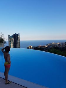 Photo for Luxuex apartment 2 steps from Monaco with big terrace and roof pool