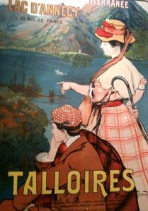 Talloires a famous summer resort since the beginning of the 20th century