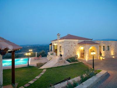 Photo for Spacious Villa with Wonderful Panoramic Views