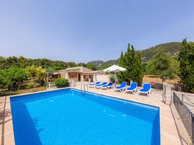 Photo for With pool and view - Villa Can Sedes