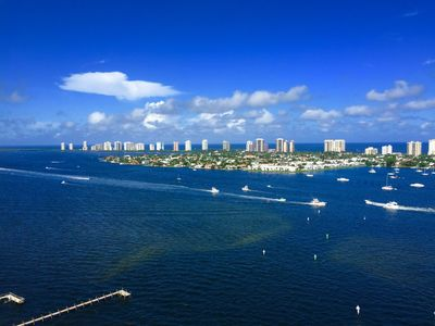 Photo for Breathtaking Intracoastal and Ocean Views Overlooking Singer Island