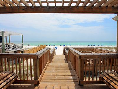 Photo for Chateau La Mer 7C-2BR☀July 26 to 28 $866 Total!☀150yds 2 Beach-Sunroom-FunPass!