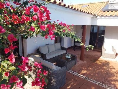 Photo for Fabulous well appointed Casa with pool and outside dining ,sleeps 10 adults
