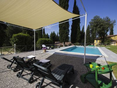 Photo for CASA FEBEA - PRIVATE TUSCAN VILLA WITH HEATED SWIMMING POOL AND CHURCH