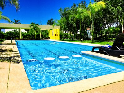 Photo for Turquoise Apartment with Pool