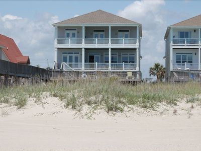 Seabiscuit- 9 bedrooms, 9 baths, pool and private access to beach. OCEANFRONT!