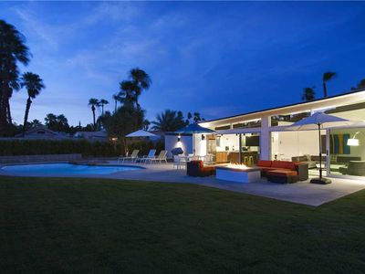 Photo for Sleek Retreat: 3 BR / 2 BA home in Palm Springs, Sleeps 6