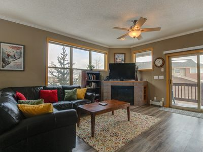 Photo for NEW LISTING! Warm, welcoming condo - easy access to 4 ski resorts & the lake!