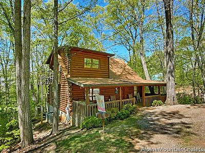 "Photo for You will be singing ""Happy Trails"" as you head to this cute cabin in the Smokies"