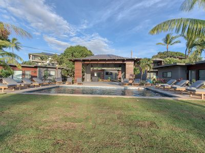 Photo for Prime Location! Private Ocean View Estate Sleeps 30, Steps to the Beach
