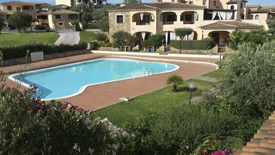 Photo for Three rooms with swimming pool in residence - Brandinchi Tavolara Coda Cavallo