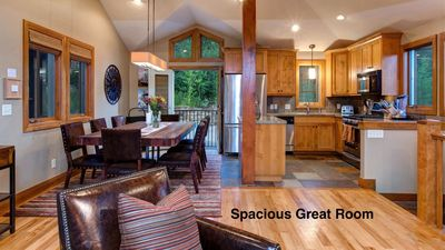 Photo for Walk to Town Lift and Main St, Private Hot Tub, Spacious Park City Home! Sleeps 9