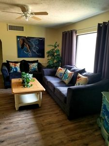 Photo for The Shanti is a newly renovated pool home that is just minutes from the beach.