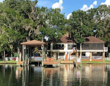 Photo for River House on Homosassa River by Blue Waters, boat dock, kayaks.