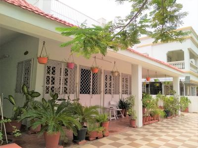 Photo for Perfect Room with Balcony in Perfect Villa facing open park