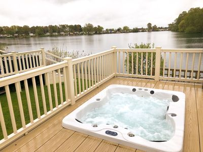Photo for Serendipity 61 Fishing Lake, Waterfront retreat!