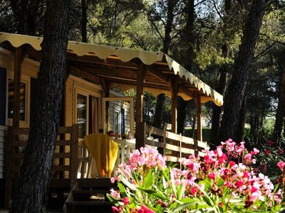 Photo for Camping Les Dauphins *** - Mobil-Home Confort 3 Rooms 4 People
