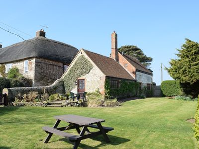 Photo for Grade II listed converted brew house on edge of Brighstone village