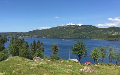 Photo for Great cottage for rent in beautiful Nordhordland. Close to sea, with terrace and whirlpool.