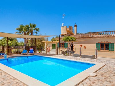 Photo for Charming Finca with Pool, Garden, Terrace, Air Conditioning & Wi-Fi; Parking Available