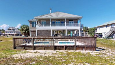 "Photo for Ready now - No storm issues! FREE BEACH GEAR! Gulf Beaches, Pool, Fireplace, Wi-Fi, 4BR/4BA ""Pure Bliss"""