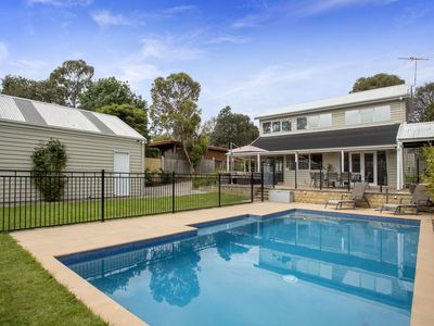 Photo for Chic family beach house, in-ground swimming pool, Foxtel, internet, games room, trampoline.