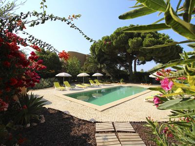 Photo for Beautiful Detached Villa with Private Pool - close to Porto do Mos Beach