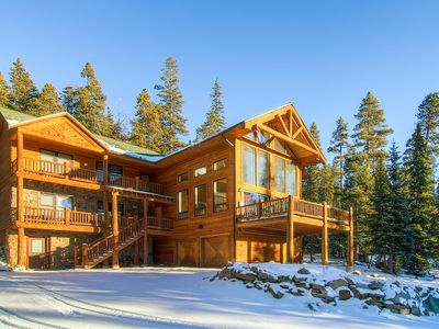 Photo for Amazing, Spacious Lodge W/ Firepit and Hot Tub!!