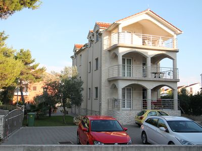 Photo for 5 apartments, direct beach location with sea views - Fine sand in the water - WLAN
