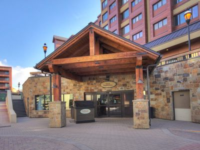 Photo for FREE SkyCard Activities - Downtown Studio, Ski-in/Out, Pool/Hot Tubs - Village at Breck Studio 4310