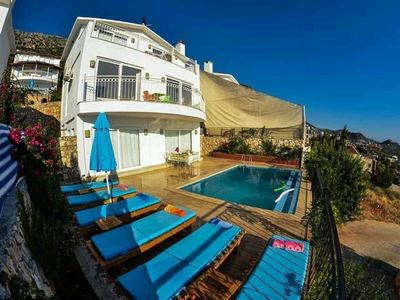 Photo for 3BR Villa Vacation Rental in Kalkan
