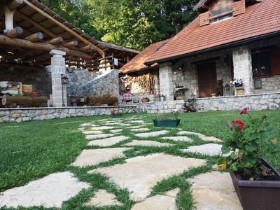 Photo for Amazing chalet in the middle of intact nature, private pool, sauna, garden, BBQ