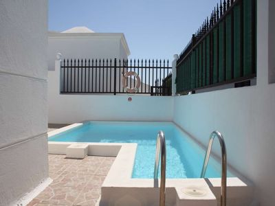 Photo for House in Tías with Internet, Pool, Garden, Balcony (970237)