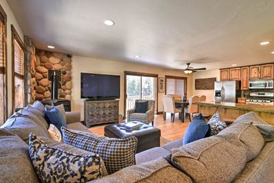Exploring Steamboat Springs is effortless while staying at this vacation rental!