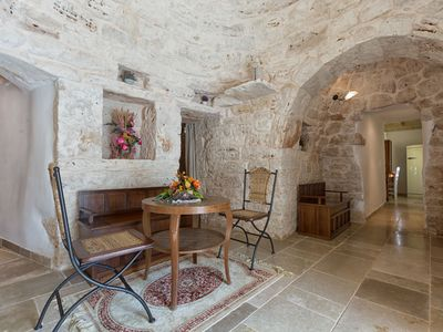 Photo for Beautiful  villa with WIFI, pool, TV, patio, panoramic view and parking, close to Ostuni