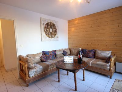 Photo for AT THE FOOT OF THE TRACKS - Very nice 3 rooms WITH BALCONY Exposé South