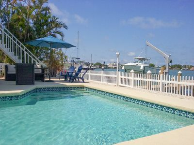 Photo for Dreamy Home w/ Heated Pool & Private Dock on the Intracoastal Waterway