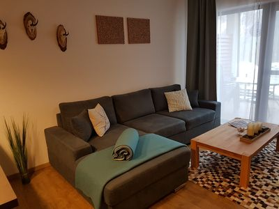 Photo for Modern 75m² apartment for 2 to 5 people with fireplace and beautiful mountain views!