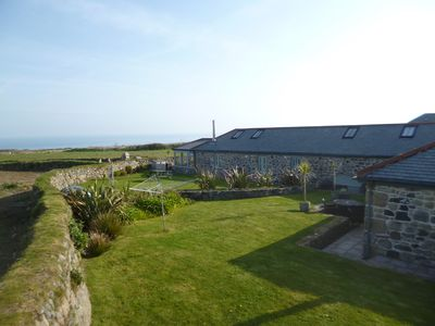 Photo for Dog Friendly Stunning Rural St Ives Cottage with Garden & Sea Views